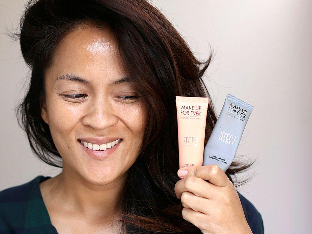 1. Gunakan primer sebelum menggunakan makeup