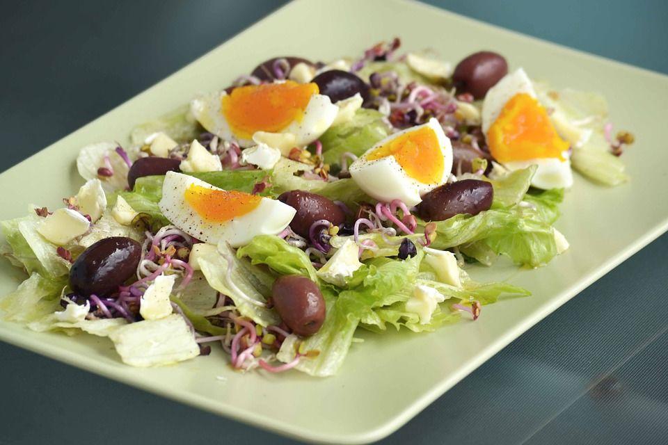 3. Salad telur