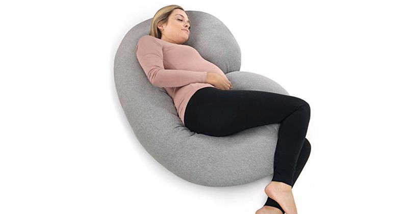 6. C Shaped Full Body Pillow