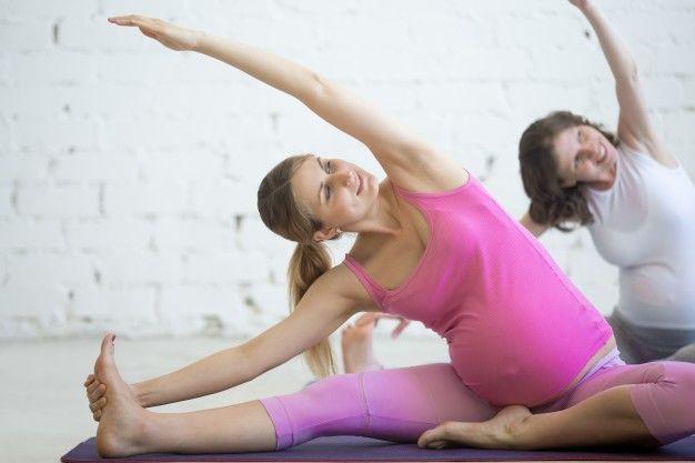 2. Lakukan olahraga aman ibu hamil