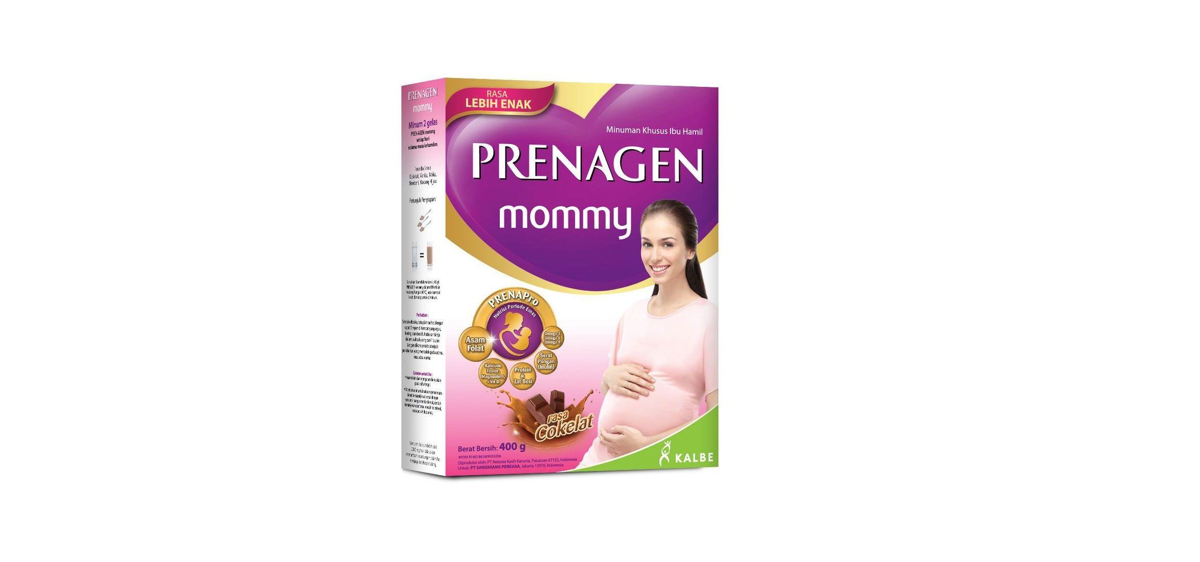 7. Prenagen Mommy menyediakan kandungan DHA kolin