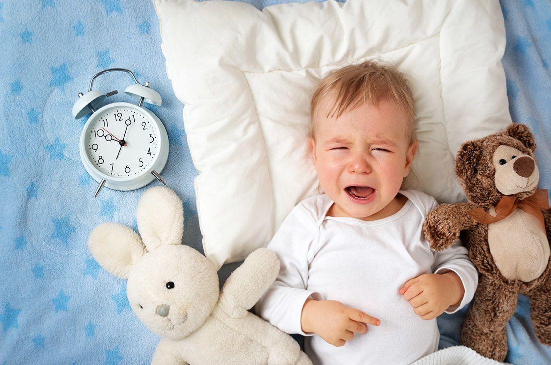 Tidur Ruangan Terang Membuat Tidur Bayi Terganggu
