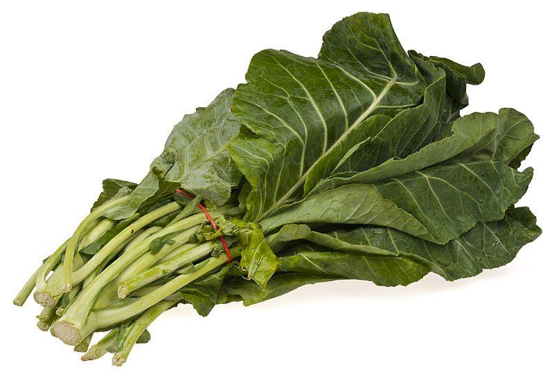 4. Sawi hijau, sayuran selalu ada mie ayam