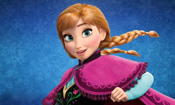 2. Anna film Frozen