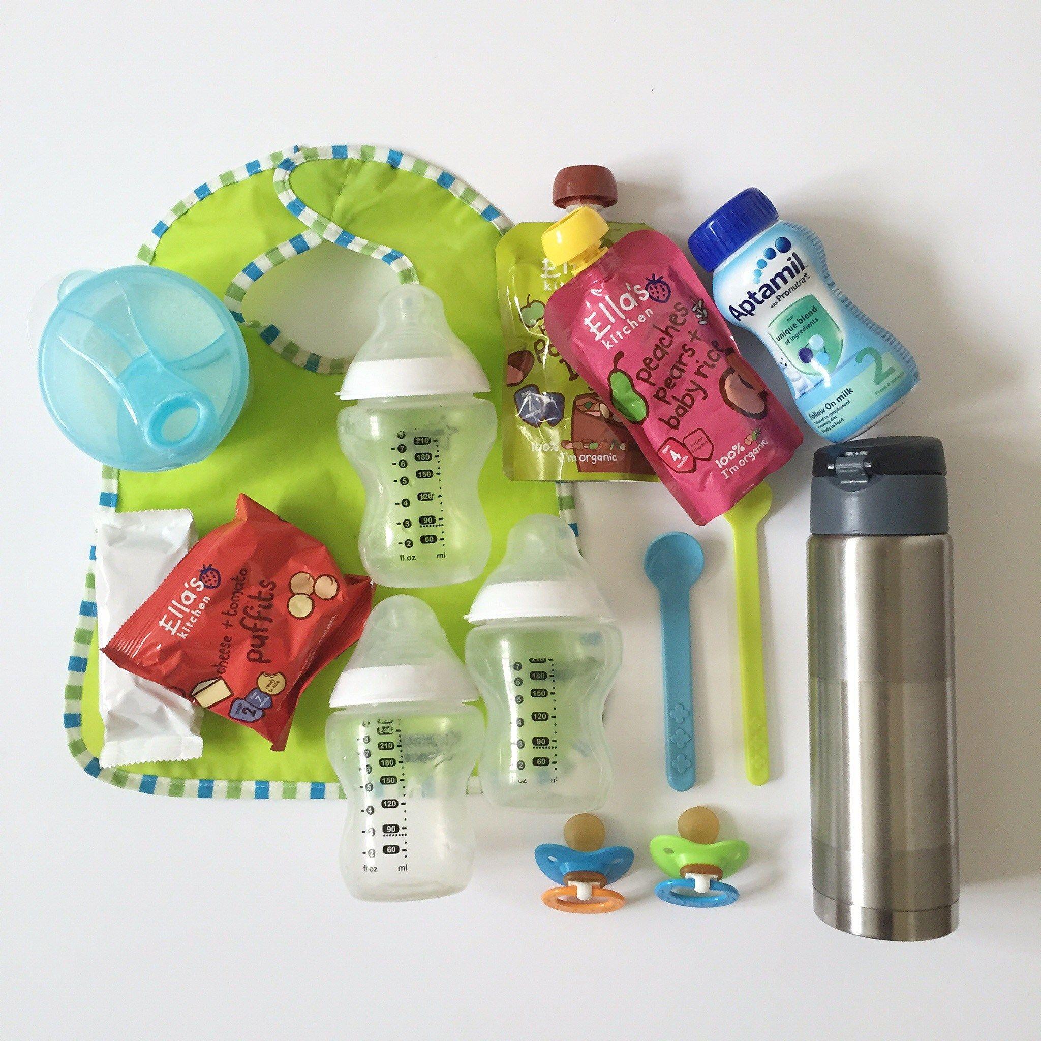 3. Botol minum & alat makan