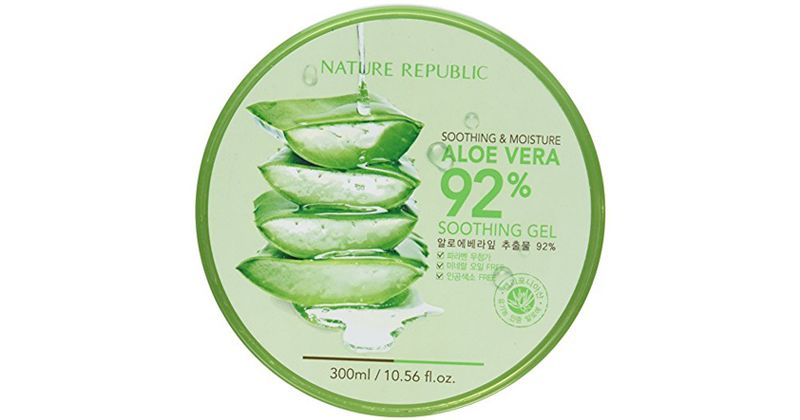 1. Nature Republic Aloe Vera Soothing Gel