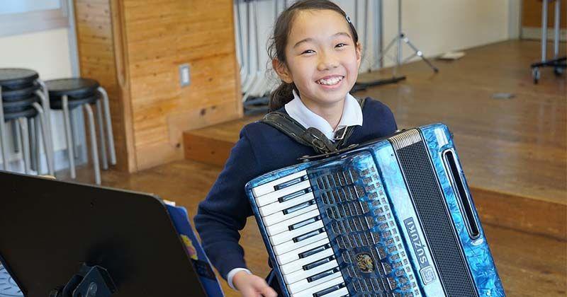 1. Musik mengolah si anak