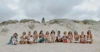 14 Ibu Menyusui Foto di Pantai, Tiada yang Mengalahkan Pose Mereka