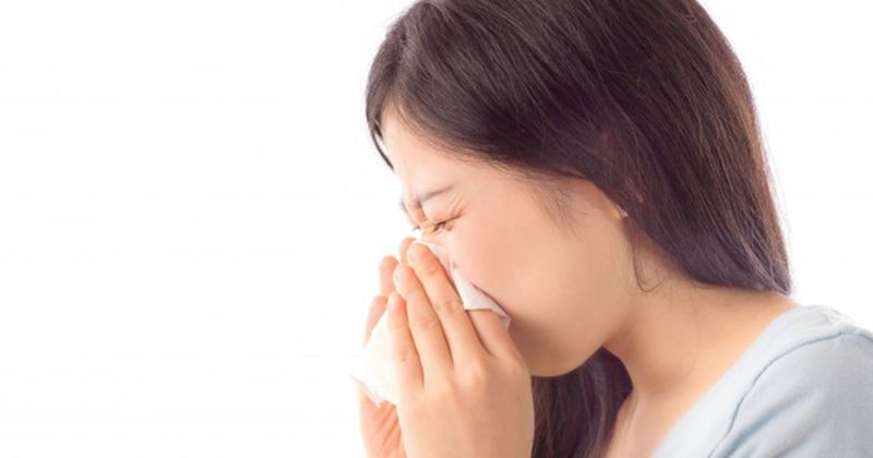 5. Pilek alergi membuat ibu hamil mendengkur