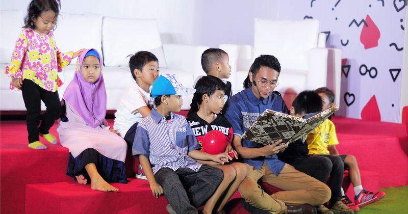 4. Menambah kosa kata baru bagi anak