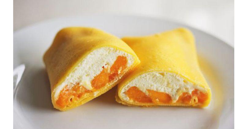 1. Mango pancakes