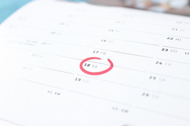 1. Metode hari pertama menstruasi terakhir menjadi patokan