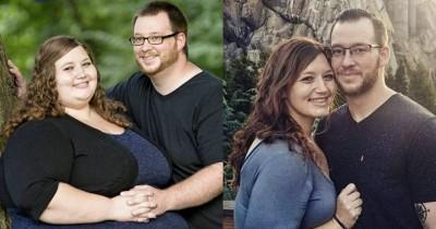 Kompak Abis! Pasangan Ini Sukses Menurunkan Berat Badan Dalam 2 Tahun