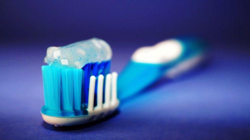 3. Uji kehamilan pasta gigi