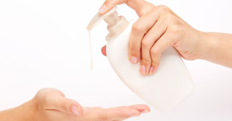 8. Dispenser atau isi ulang sabun tanpa disadari menjadi sarang kuman