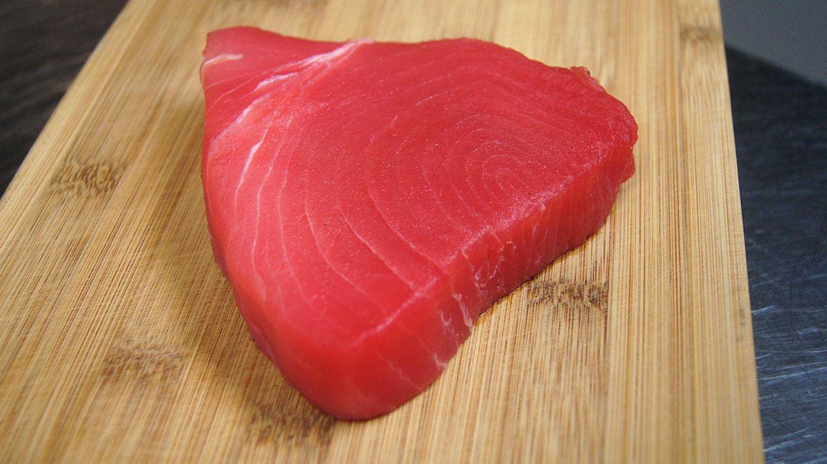 5. Nasi tim ikan tuna