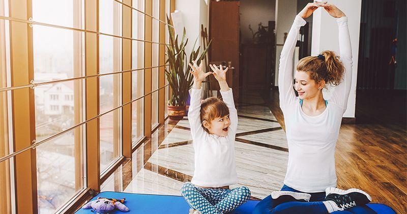 Wajib Dicoba 8 Pose Yoga Mudah Seru Anak
