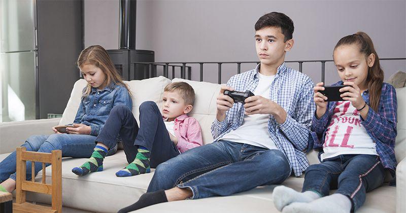 3. Interaksi antara anak orangtua sangat kurang