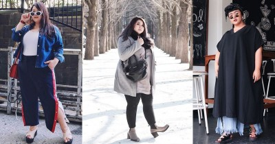 Keren Ini dia Tips Mix And Match Plus Size Outfit ala Selebgram