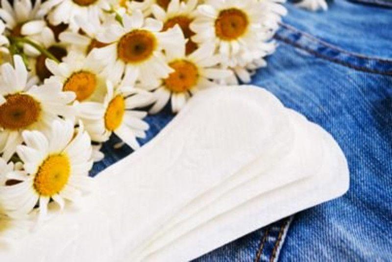3. Menggunakan pantyliner