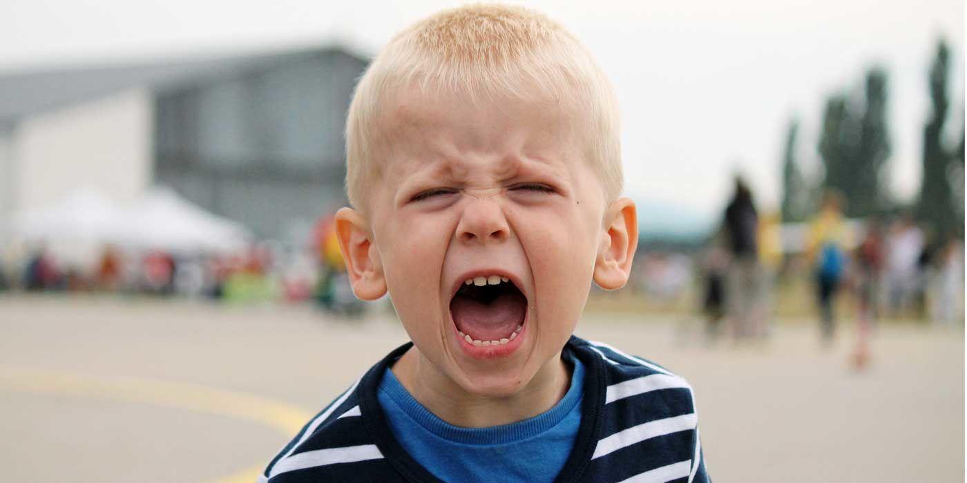 1. Jangan marah berteriak jika tempramen anak sedang naik