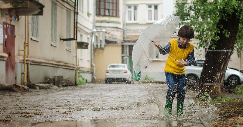 Bermain Payung