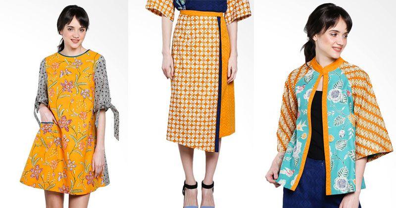 3. Dengan pemilihan tepat, batik bikin penampilan makin kekinian
