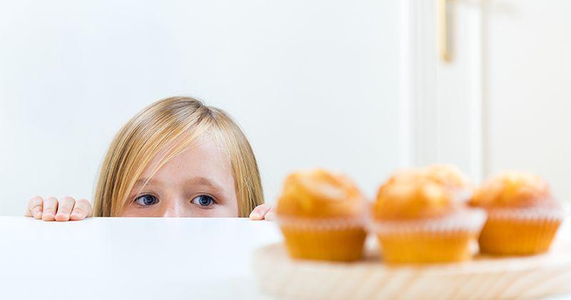 5. Replika makanan junk food bahan-bahan sehat
