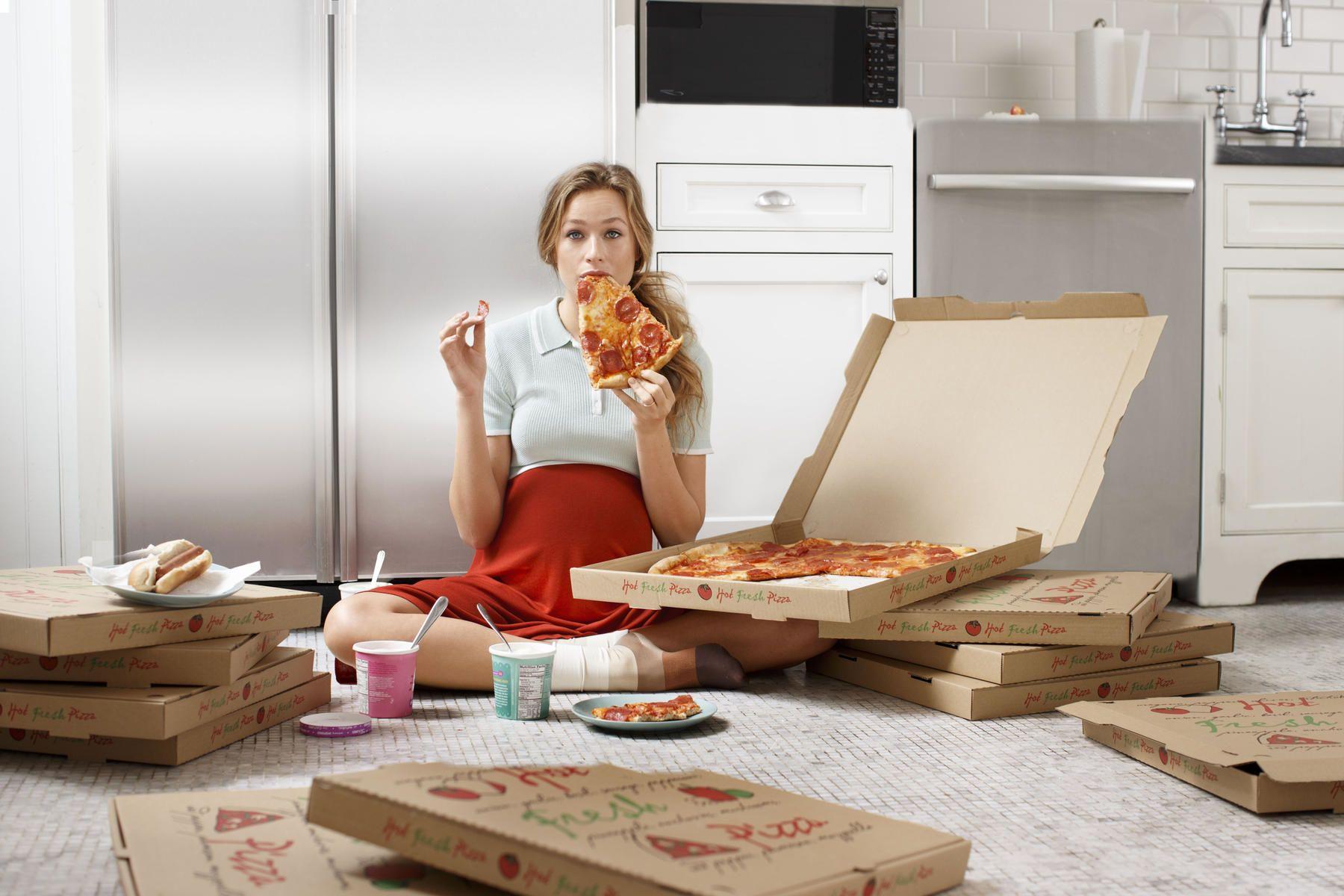 3. Makan dalam porsi besar