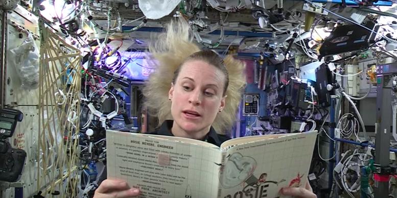 Keren Banget Para Astronot ini Mendongeng dari Luar Angkasa