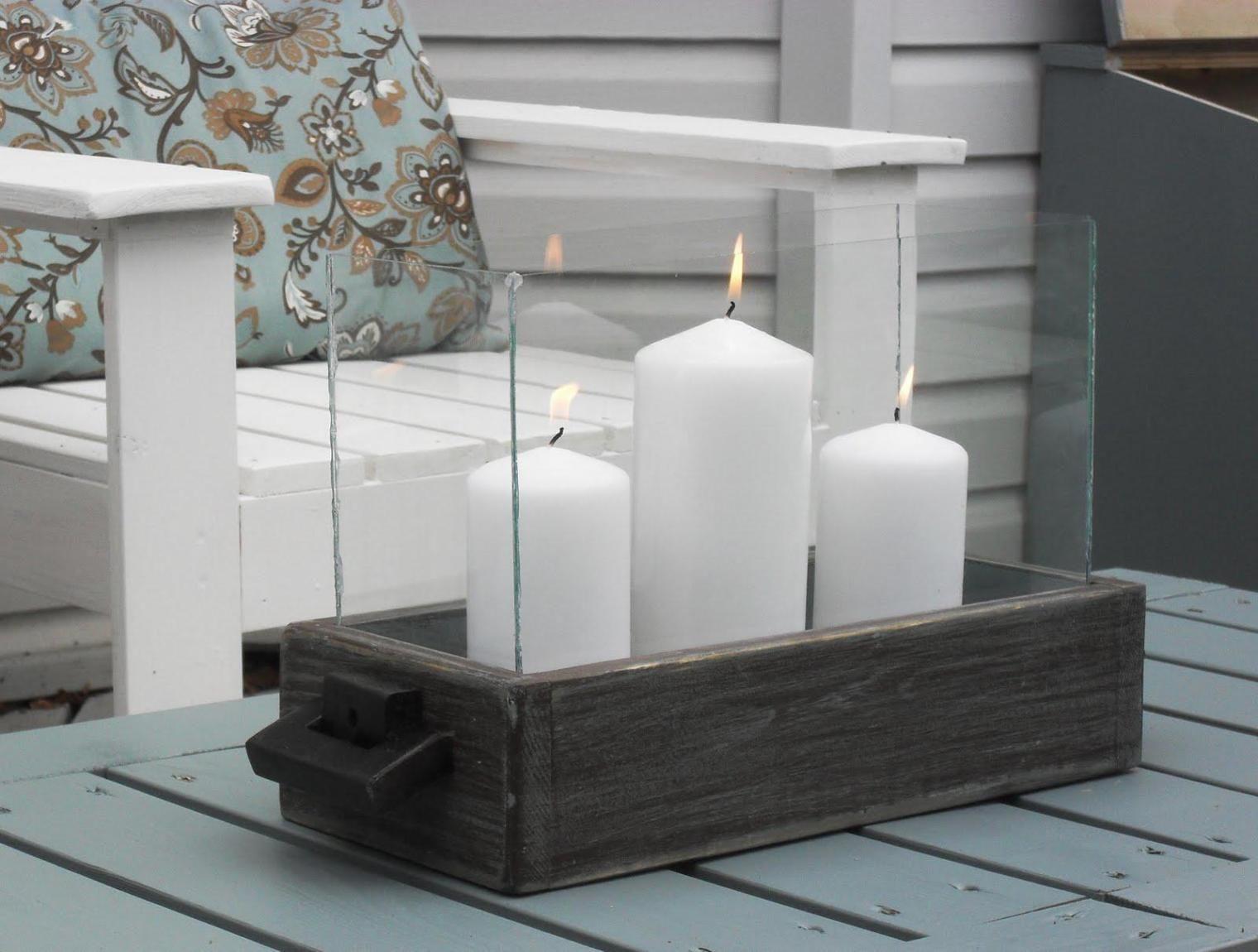 5. Lilin putih bangkitkan energi positif