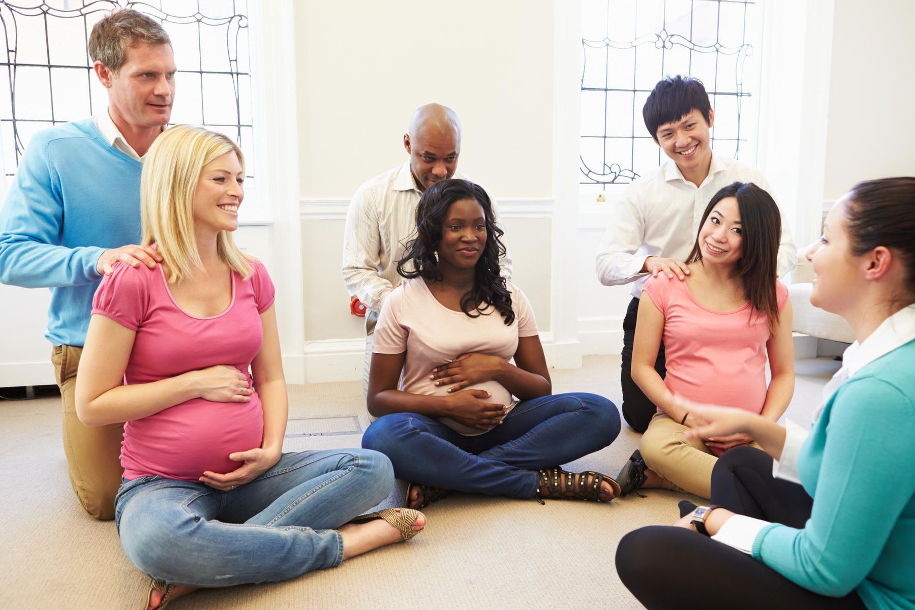6. Bagaimana jika Mama ikut kelas pasca melahirkan