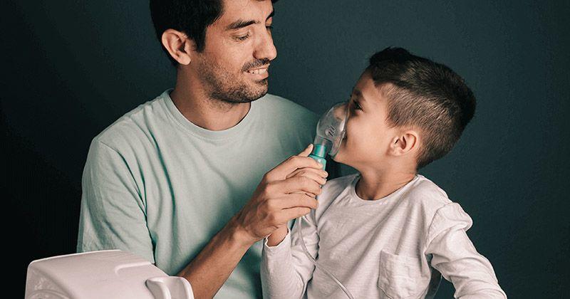 1. Terapi uap membuat obat langsung masuk ke paru-paru