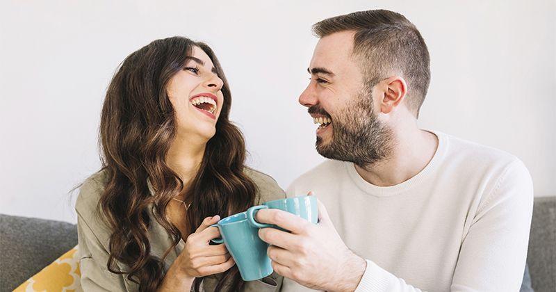 2. Tertawa dapat memberikan energi positif ke dalam perut