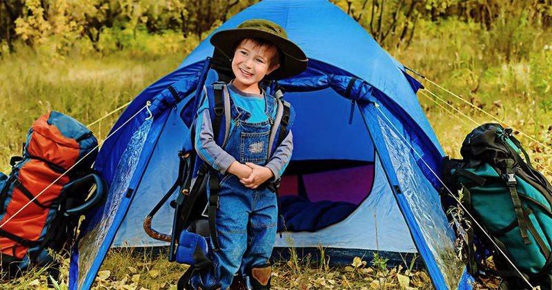 Ini, 5 Manfaat Camping Anak Mama