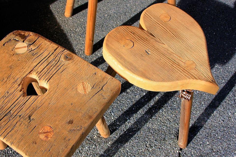 5. Jemur perabotan berbahan kayu