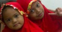 2. Bom dililit pinggang anak-anak perempuan