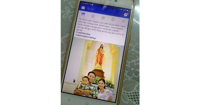 1. Postingan kesedihan sekaligus ucapan terima kasih dari istri Bayu Rendra