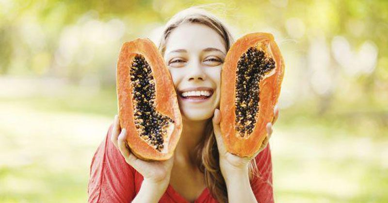 5. Pepaya mengandung enzim papain baik sistem pencernaan