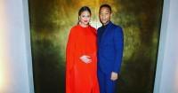 Chrissy Teigen John Legend Menyambut Anak Kedua Sukacita