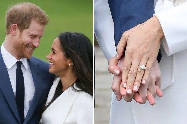 Momen Pangeran Harry melamar Meghan Markle