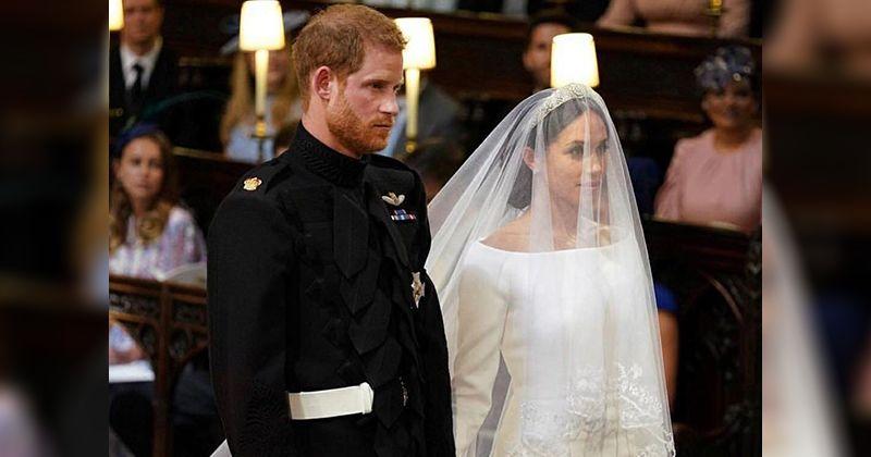 2. Prosesi sakral pernikahan Pangeran Harry Meghan Markle