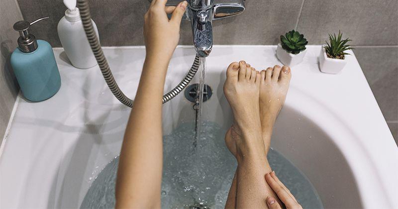 4. Hindari sabun membuat kulit kering