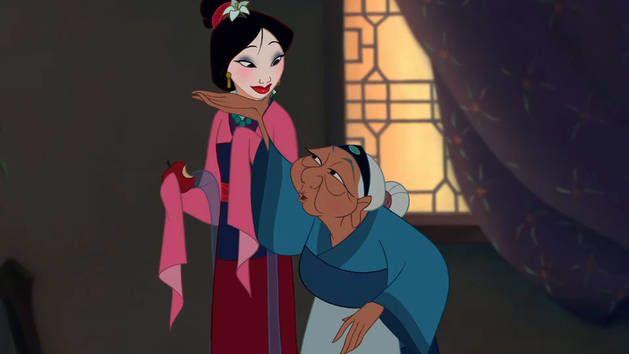 1. Mulan (1998) mengenai tujuah hidup Mama