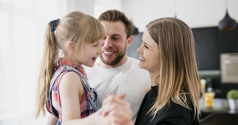 4. Menumbuhkan rasa syukur tengah keluarga