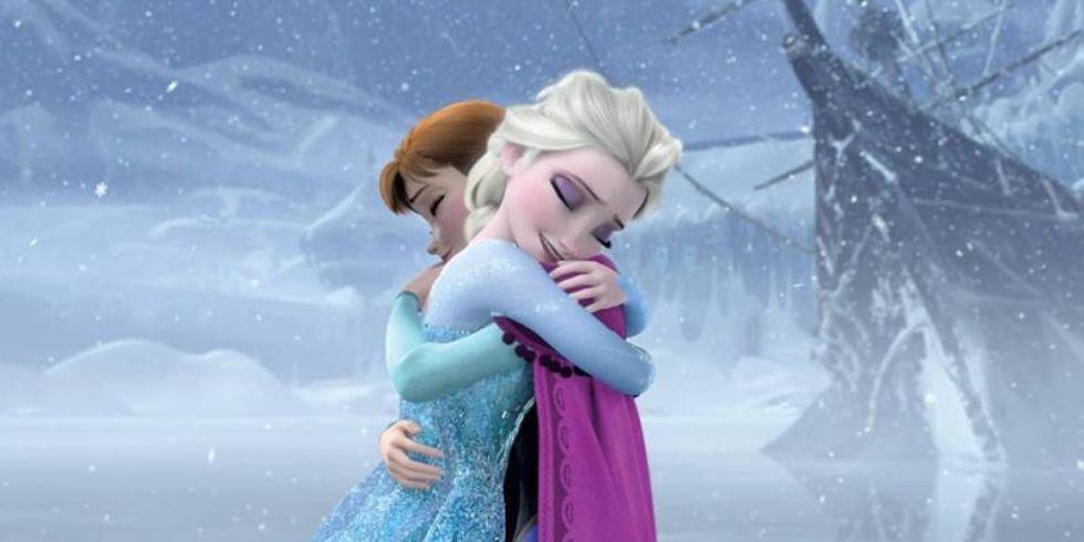 3. Frozen (2013) mengenai definisi cinta
