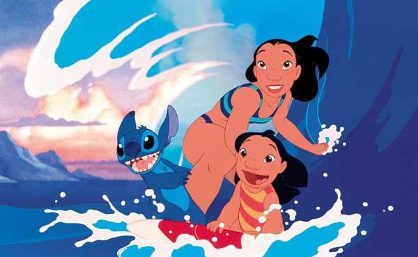 4. Lilo & Stitch (2002) mengenai arti sebuah keluarga