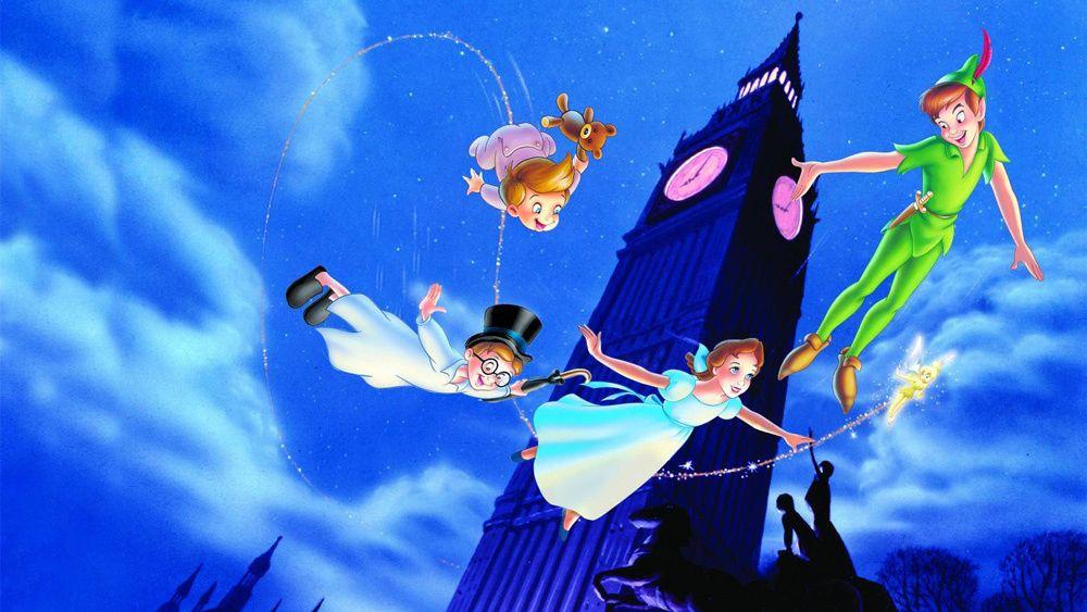 5. Peter Pan (1953) mengenai pandangan Mama terjadi Si Kecil