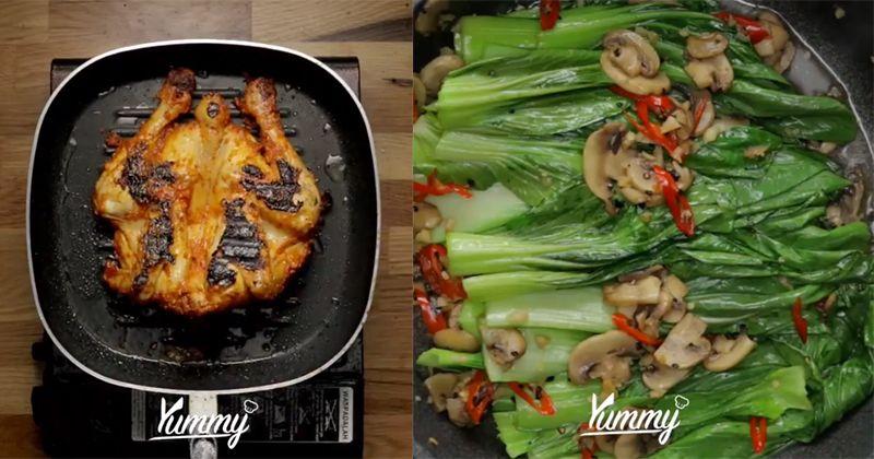 Resep Menu Buka Puasa Pokcoy Cah Jamur Ayam Bakar Taliwang