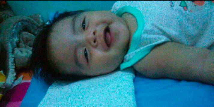 Bayi Angelo terkena diare